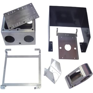 Winstronics Sheet Metal Custom Laser Fabrication