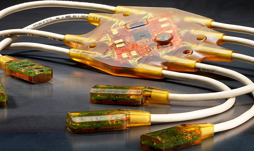 winstronics overmolded cable teaser circuit board protection